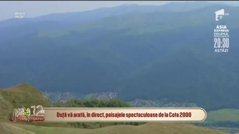 Peisaje spectaculoase la Cota 2000. Sfaturi pentru turiști