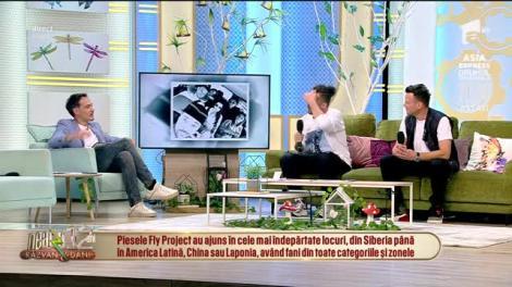Tudor Ionescu și Dan Deneș de la Fly Project: Ne este dor de oameni și de scenă