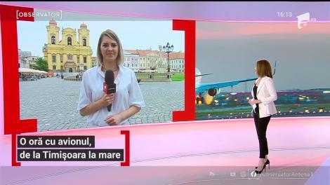 Timișoara reia cursele aeriene spre litoral