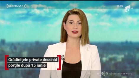 Grădinițele private se deschid după dată de 15 iunie