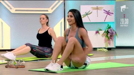 Cea mai sexy mămică, semifinalele! Antrenament la saltea cu Simona, Melania și Mădălina |Video