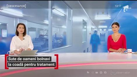 Imagini revoltătoare surprinse la Institutul Oncologic din Cluj. Sute de persoane grav bolnave așteaptă ore întregi să-și facă testul COVID