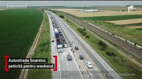Autostrada Soarelui doboară record după record. După haosul din minivacanţa de Rusalii, reprezentanţii CNAIR au decis sistarea lucrărilor pe şoseaua de mare viteză