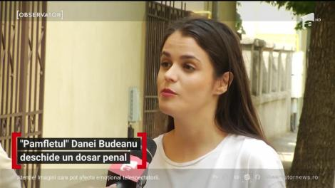 Dana Budeanu este vizată de un dosar penal pentru instigare publică la violenţă