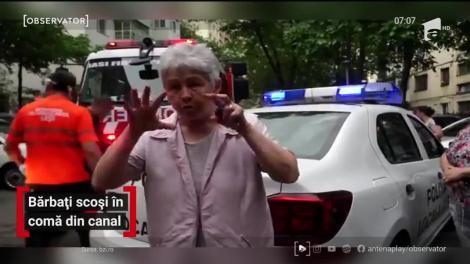 Doi bărbaţi din Iaşi au fost scoși în comă din canal, după ce au intrat să-l curețe