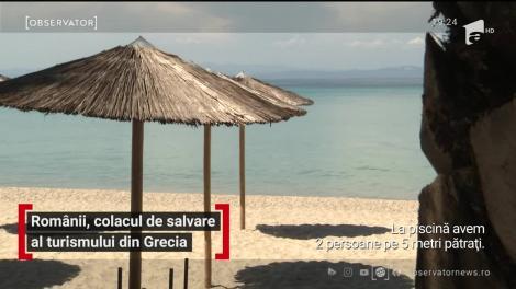 Românii, colacul de salvare al turismului din Grecia