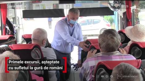 Primele excursii, așteptate cu sufletul la gură de români