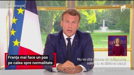 Franţa mai face un pas spre revenirea la normal, după restricţiile impuse pentru limitarea epidemiei