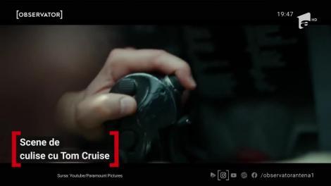 La 57 de ani, Tom Cruise își face singur cascadoriile