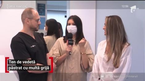 Diana Munteanu și Paula Chirilă, ten de vedetă păstrat cu multă grijă