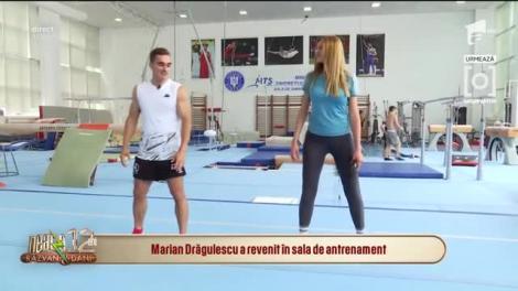Marian Drăgulescu a revenit în sala de antrenament. Ce exerciții fizice le recomandă fanilor