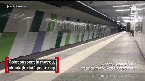 Ameninţare cu bombă în staţia de metrou Eroilor din Bucureşti. Circulația trenurilor a fost dată peste cap