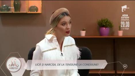 """De la relaxare la conexiune! Narcisa Pruteanu s-a întors în competiția """"Mireasa"""". Lică, un concurent cu simpatii nespuse!"""