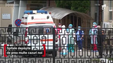 Spitalele din România, depășite de prea multe cazuri noi de coronavirus
