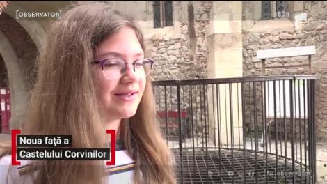 Noua față a Castelului Corvinilor