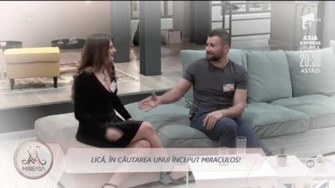 """Lică, în căutarea unui început miraculos! Vasile Turnău, sfaturi de la Petronela Cinori: """"Simt ceva pentru Andreia"""""""