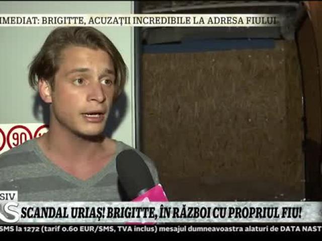 """Fiul lui Brigitte Pastramă, declarații absolut surprinzătoare despre mama sa! """"M-a dat desculț afară din casă"""""""