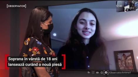 La doar 18 ani, Laura Bretan lansează curând o nouă piesă. Ce alte surprize pregătește soprana