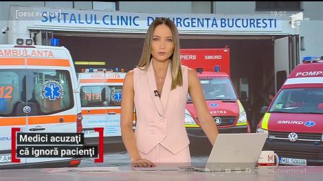 Medicii de la spitalul Floreasca sunt acuzați că ignoră pacienții