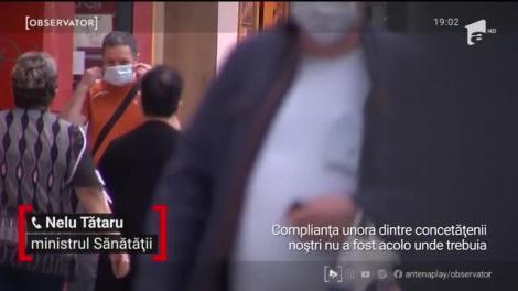 Ministrul Sănătăţii, Nelu Tătaru, amână măsurile de relaxare: restaurantele, locurile de joacă şi teatrele rămân închise