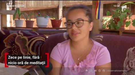 O adolescentă din Gorj a luat zece pe line la BAC, fără nicio ora de meditații