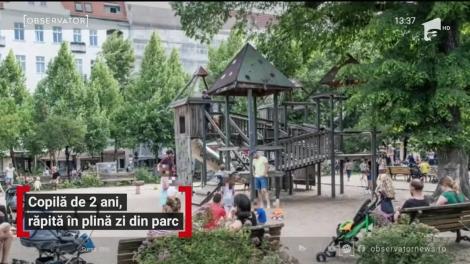 Copilă de doi ani, răpită în plină zi din parc