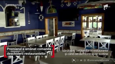 """Redeschiderea restaurantelor, amânată din nou. Premierul Ludovic Orban, declarații de ultimă oră: """"Trebuie să găsim un set de reguli!"""""""