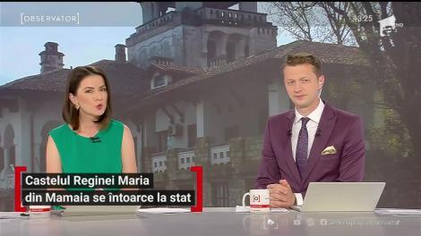 Castelul Reginei Maria din Mamaia se întoarce la sat