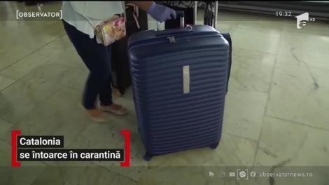 Catalonia se întoarce în carantină
