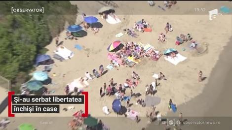 Americanii şi-au sărbătorit ziua în balcon sau în faţa televizorului. Doar pe domeniul de la Casa Albă, lucrurile au stat altfel