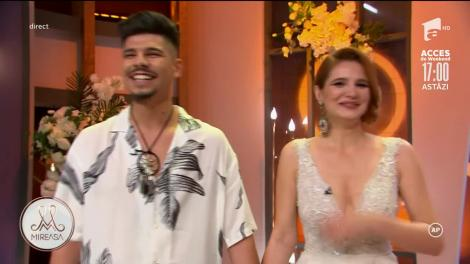 """Armando Rădulescu și Andra Nicolin au câștigat competiția """"Mireasa"""""""