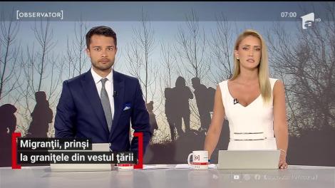 46 de migranţi au fost descoperiţi, seara trecută, în judeţul Timiş. Copii, femei şi bărbaţi au mers mii de kilometri prin frig, ploi, fără mâncare