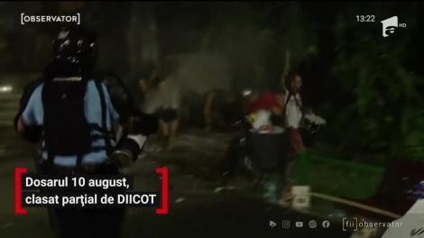 Dosarul 10 august, clasat parțial de DIICOT
