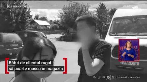 Proprietarul unui magazin chinezesc a fost bătut cu bestialitate de un român pentru că l-a rugat să îşi pună masca de protecţie