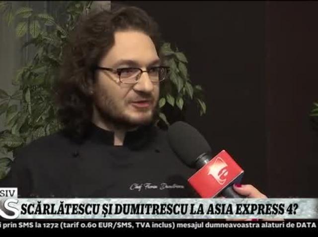 Cătălin Scărlătescu și Florin Dumitrescu viitori concurenți la Asia Express, sezonul 4?