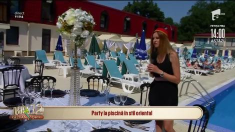 Vrei ceva nou la petrecerea ta? Poți avea un party la piscină în stil oriental