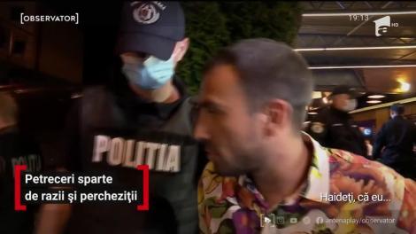 Petreceri sparte de razii și percheziții în Cluj-Napoca