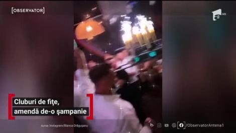 Cluburi de fițe din Mamaia, amendă de-o șampanie