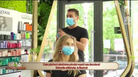 Cum păstrezi sănătatea părului vopsit sau decolorat! Sfaturile stilistului, la Neatza cu Răzvan și Dani