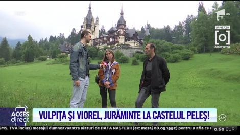 Vulpiţa şi Viorel, jurăminte solemne la Castelul Peleş! Ce planuri de familie și-au făcut cei doi, după ce s-au împăcat
