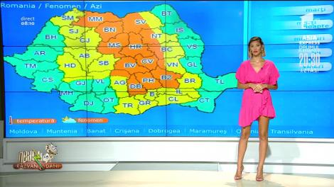 Prognoza Meteo, 20 iulie 2020. Cod portocaliu de cantități însemnate de apă în estul Transilvaniei și vestul Moldovei