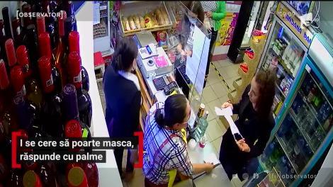 O tânără din Baia Mare a pălmuit o vânzătoare de la un magazin alimentar, după ce angajata i-a cerut să îşi pună masca pe faţă
