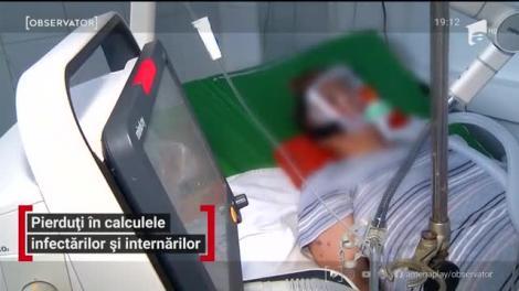 Oficialii, pierduți în calculele infectărilor și internărilor