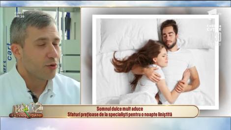 Somnul dulce mult aduce! Sfaturi prețioase de la specialiști pentru o noapte liniștită