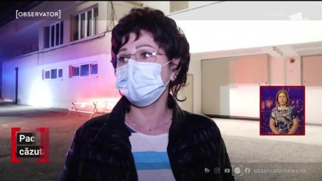 O femeie în vârstă de 71 ani a căzut de la etajul spitalului din comuna Valea Iașiului