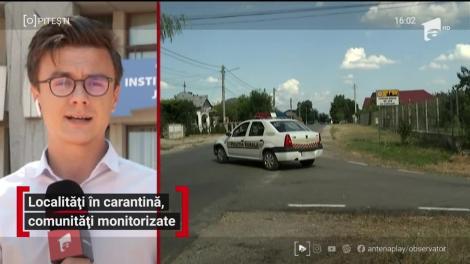 Două localităţi, din Giurgiu şi Prahova, au intrat în carantină