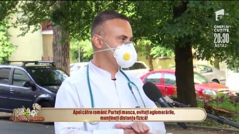 Apel către români: Purtați masca, evitați aglomerările, mențineți distanța fizică