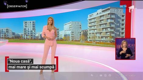 """Românii care vor să își cumpere o locuință cu programul """"Noua casă"""", trebuie să dea un avans mai mare"""