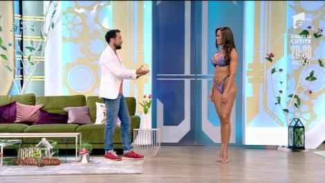 Dani, pune mâna la ochi, te vede de acasă! Ioana Crișan, campioană națională absolută la Bikini Fitness, este mai sexy ca niciodată