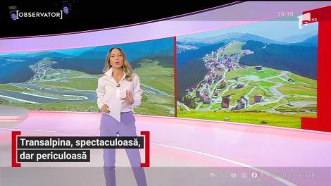 Transalpina, renumită pentru peisajele spectaculoase, poate deveni oricând o capcană pentru şoferi. Drumul este într-un şantier continuu de 12 ani